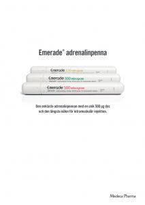 Produktbroschyr - Emerade (endast för vårdpersonal)